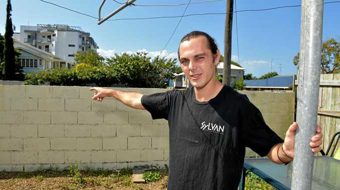 Kain Gilgen was hanging out his washing, police jumped his  front fence and tackled him to the ground. It was a case of mistaken identity.