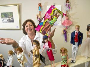 Blood, sweat, and tears on 300 barbie's turns to generous act