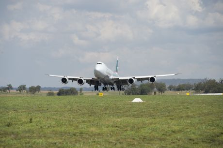 Darling Downs producers now have a regular export link to Asia with the announcement of a weekly freight flight from Brisbane West Wellcamp airport.