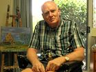 Nanyima Aged Care, Mirani, resident Rodney Fannon, 65, is a devoted painter who suffers from multiple system atrophy, a rare degenerative condition which breaks down nerve cells in the brain and spinal cord.