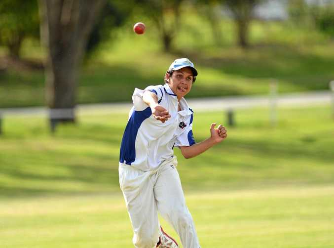 FORM: Mason McGlone was one of Gympie's best at the weekend.