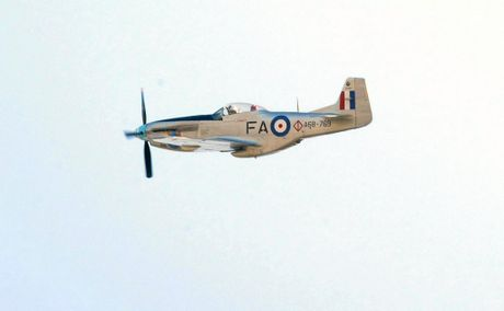 HISTORY: The P-51 Mustang flying into Mackay.