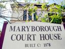 A man who allegedly used Facebook to send a death threat has appeared before Maryborough Magistrates Court.