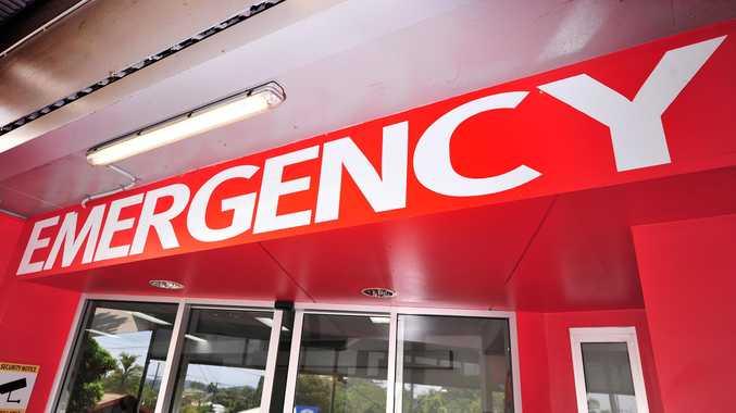 Emergency sign at Nambour General Hospital.Photo: Iain Curry / Sunshine Coast Daily
