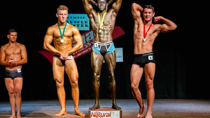 Muscle Muster, 1st Friday Bangud, 2nd Sabeh Chahla, 3rd Benjamin Shayler. Teen U/19