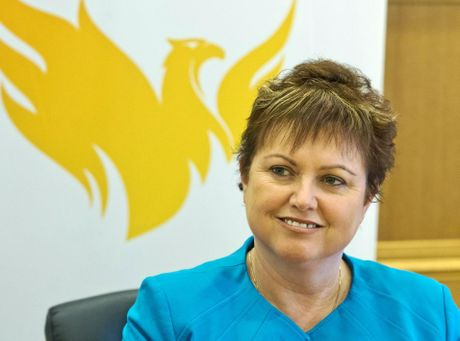 The University of Southern Queensland Vice-Chancellor and President Jan Thomas announces her resignation.