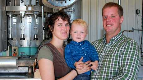 NEW BREW: Beatrice and Bert Kangler from Germany started Baffle Beer Brewery last year.