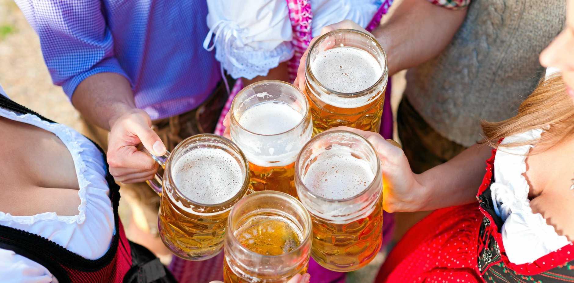 GERMAN FESTIVITIES: Celebrate Oktoberfest at RiverFeast this Sunday.