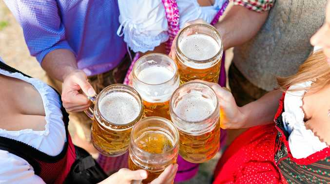 GERMAN FESTIVITIES: Celebrate Oktoberfest at RiverFeast this Sunday.