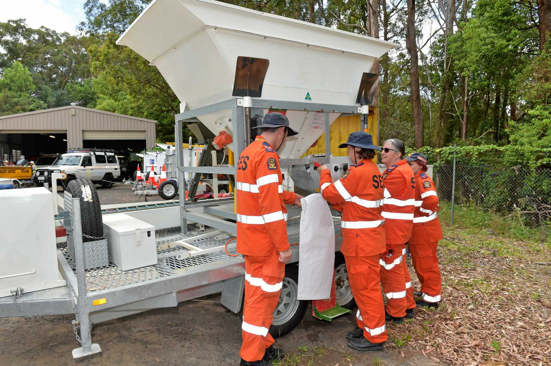 The new SES depot at Nambour has officially opened.