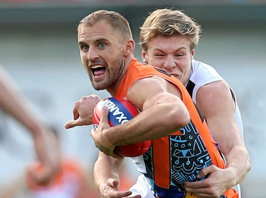 Joel Patfull of the Giants has announced his retirement.