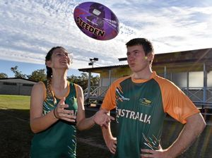 The Roma siblings selected for Australian touch rugby