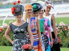 Last year's state finalists in the Myer Fashions on the Field (L-R) Nikki Grogan (WA), Stephanie Martin (QLD), Shauna Dennett (NSW), Michelle Boyes (SA) and Brooke Strahran (TAS).