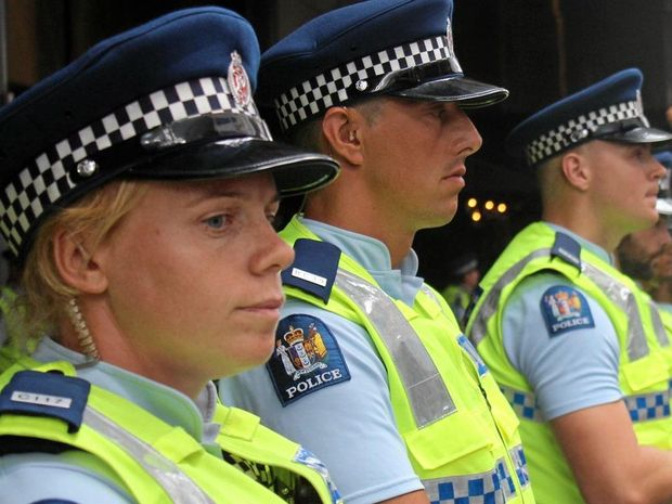 New Zealand Police Minister Judith Collins is under fire over police numbers and resources, and the policing of outlaw gangs.