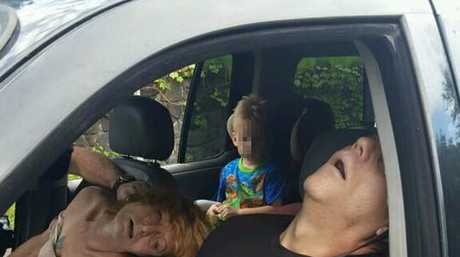 Photo posted on the City of East Liverpool, Ohio Facebook page. We have blurred the child's face.