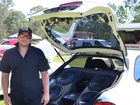 SHOW N SHINE: Matt Alchin with his Alpine sound system, which has reached up to 142dB.