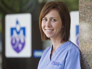 Caitlin explains why she's JUST a great nurse
