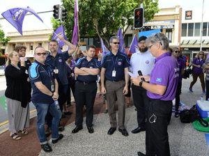 Ipswich Hospital workers threaten to strike