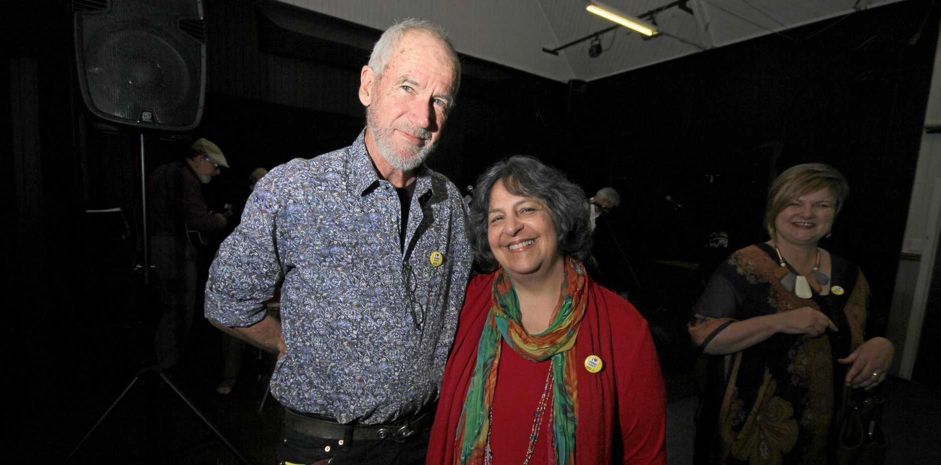 Rob Simcocks and Teri Welles.