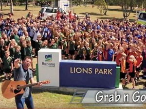 Josh Arnold's 'Grab n Go' video a hit throughout Shire