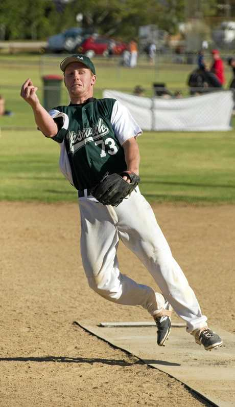 PITCH PERFECT: Victorian pitcher Joel Goodall is the only outside addition to Toowoomba's line-up this weekend.