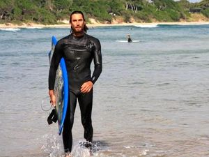 Shark attack victim speaks of ordeal: 'It was thrashing'