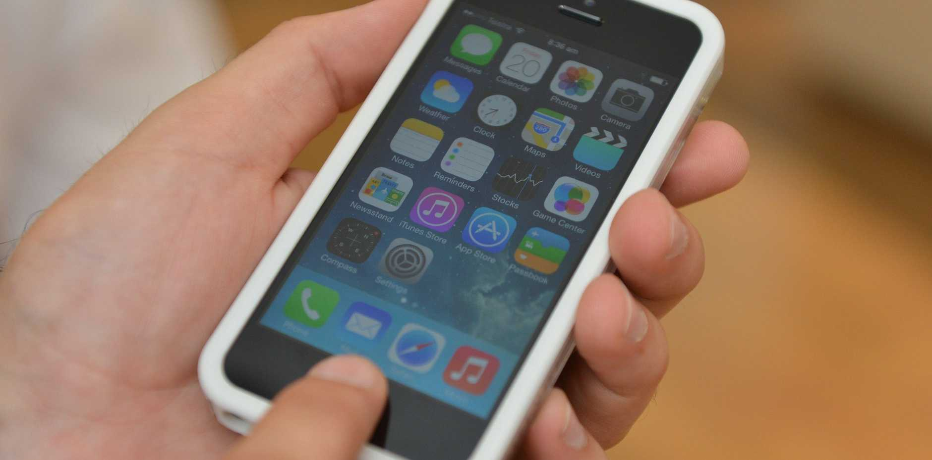 BIG TROUBLE: Children need to be aware that sexting can lead to legal implications.