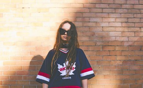 Mallrat is a Brisbane-based teenager with a knack for creating outrageously catchy pop tunes.