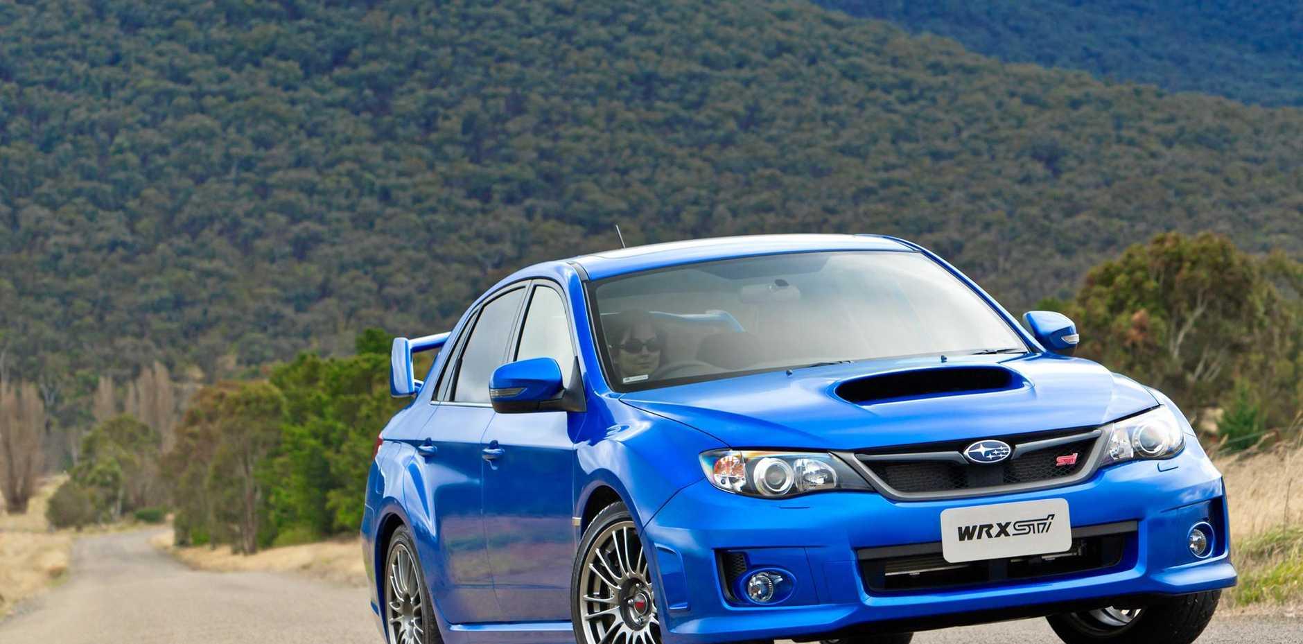 MY11 Subaru WRX STI Spec.R sedan front.