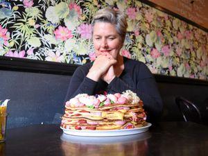 Feast your eyes on this Bundaberg 'pancake cake'