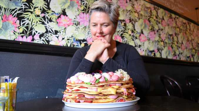 PRETTY AS A PICTURE: Bundaberg cafe Indulge head chef and co-owner Amanda Hinds.
