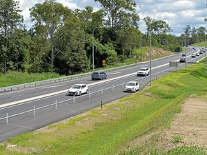 When will the Bruce be two lanes all the way to Brisbane?
