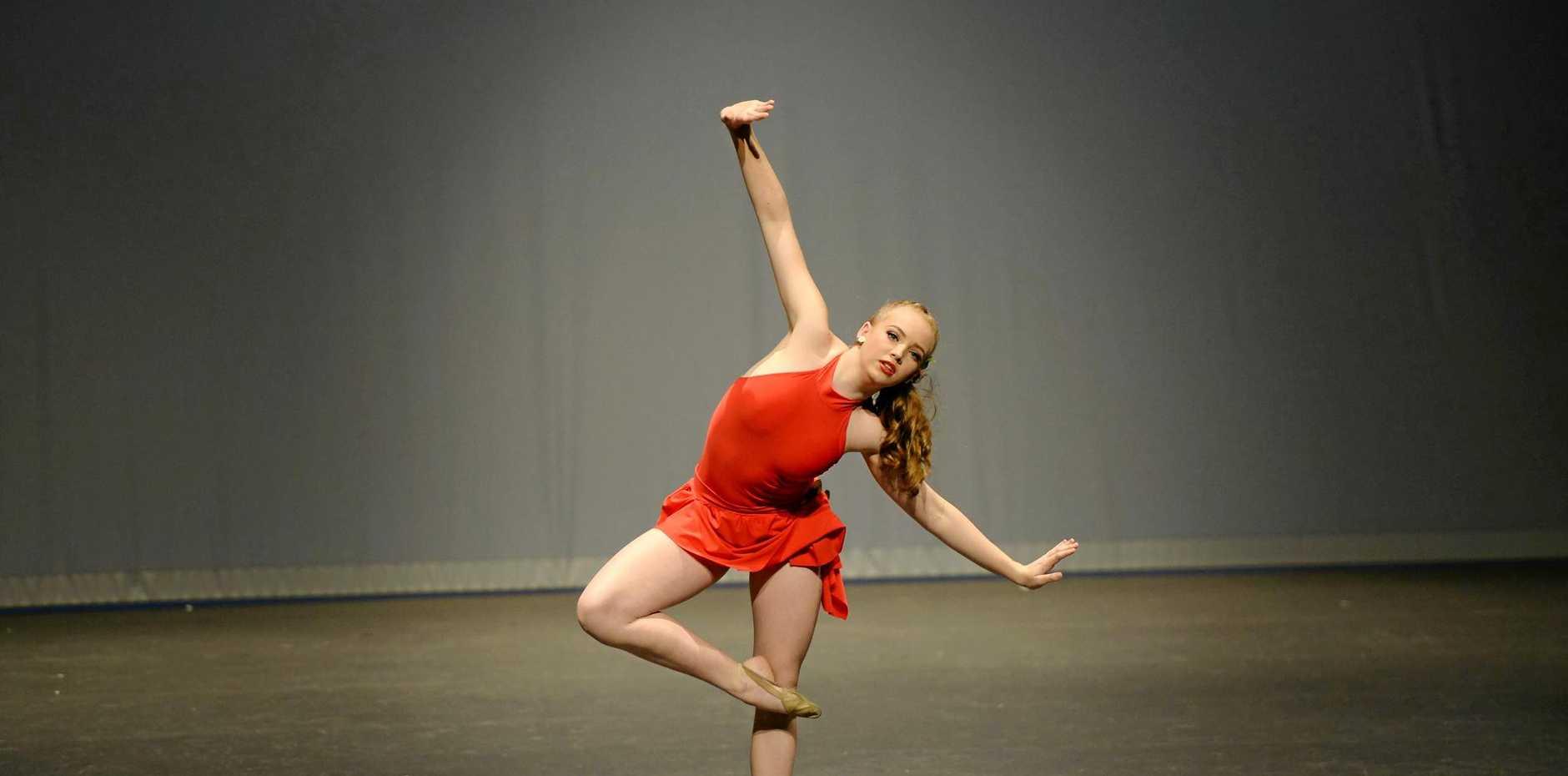 Caitlin Skinner in Elite Dancer.