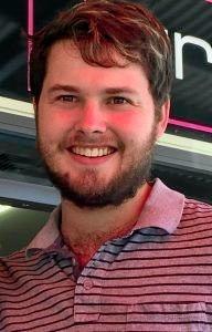 Missing person Ben Makinson, 25, was found at Golden Beach.