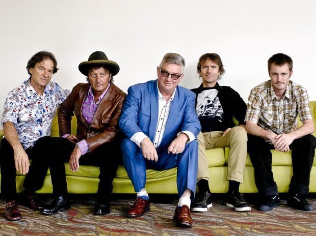 Parklife: Mental As Anything will take to the Nelson Reserve stage on Saturday night for the Rush Festival