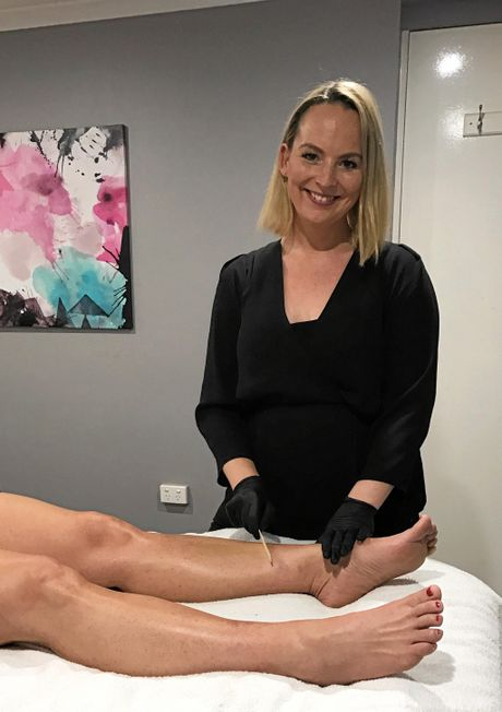 Kylie Crothers of Kylie Crothers Skin and Beauty was one of our top beauty therapists.