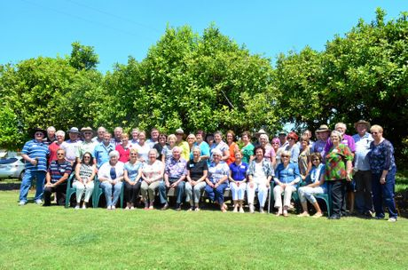 CELEBRATING 50 YEARS: The 1966 Class of Year 10 reunion of Isis District State High School.