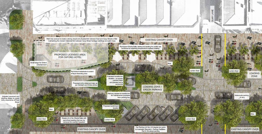 Denham St revitalisation plans