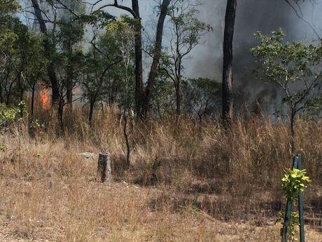 FIRE FIGHT: Crew battle blaze near Kirkwood Rd.