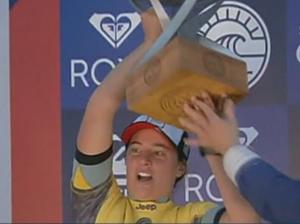 Aussie is new world surfing champion