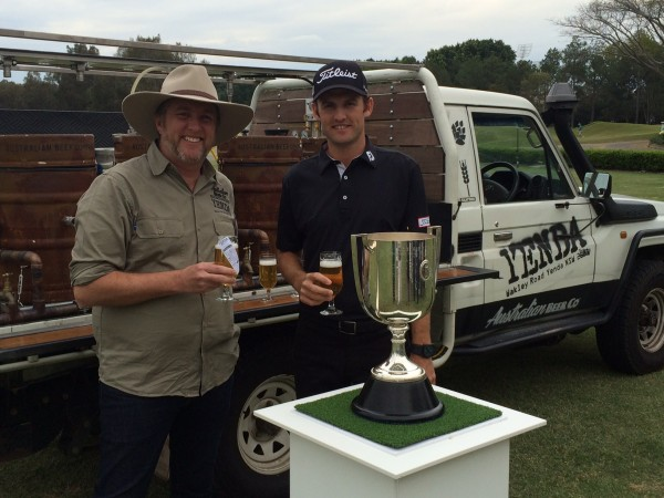Yenda has been named as the official beer of the 2016 Australian PGA Championship.