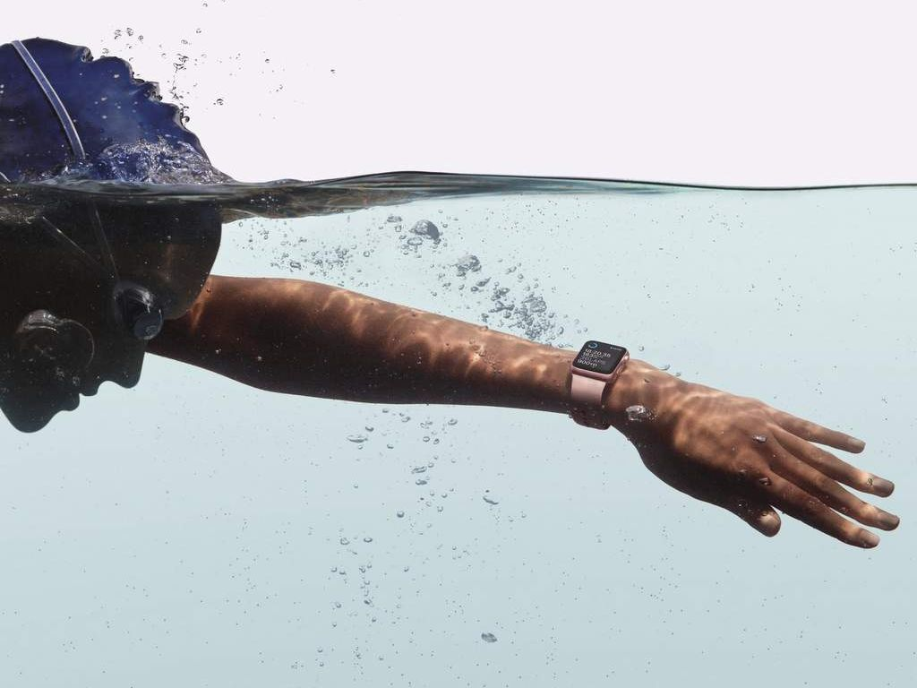 The Apple Watch Series 2 is waterproof to 50 metres