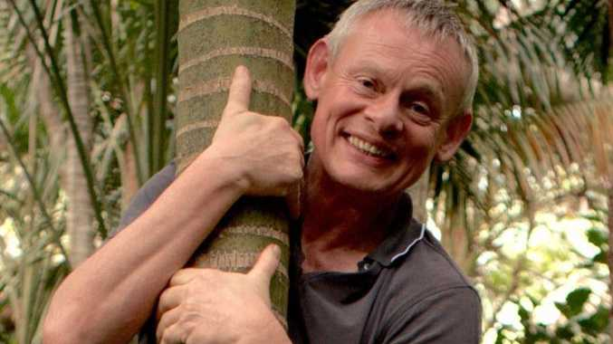 Martin Clunes in a scene from the TV series Martin Clunes: Islands of Australia.