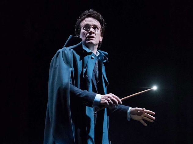 Jamie Parker (Harry Potter) in Harry Potter and the Cursed Child.