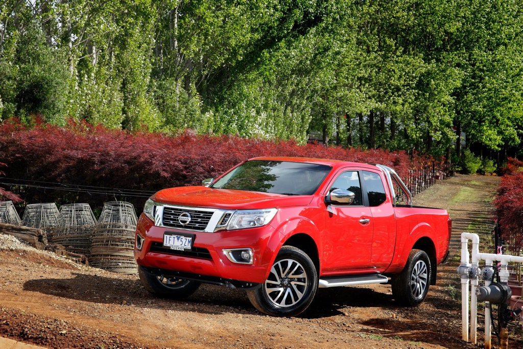 The Nissan Navara NP300 RX 4x4 Pick Up.