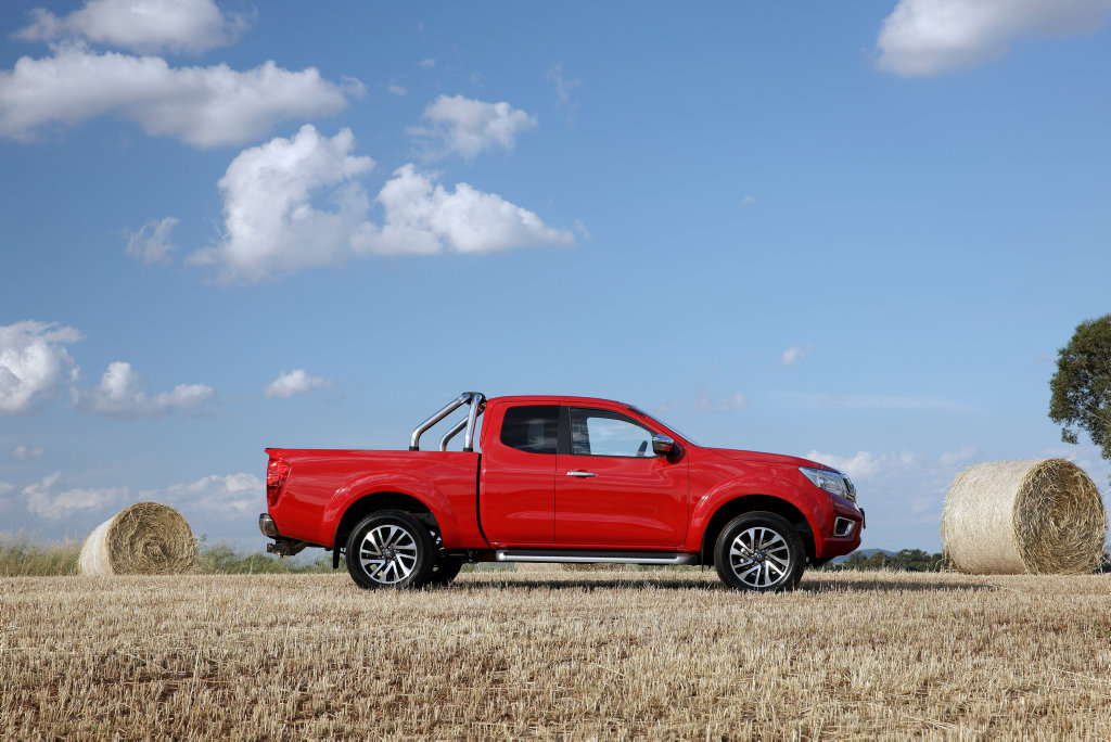 WORKHORSE: Nissan's Navara King Cab pickup proves a decent all-rounder without the Dual Cab price tag.