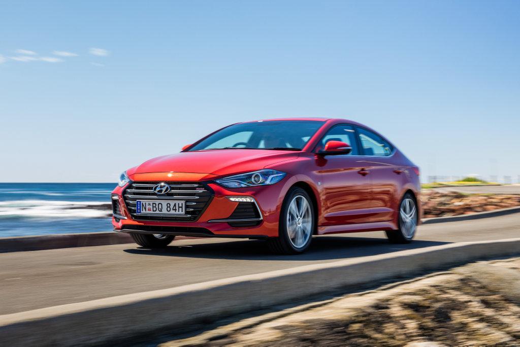 2016 Hyundai Elantra SR Turbo.Photo: Mark Bramley.