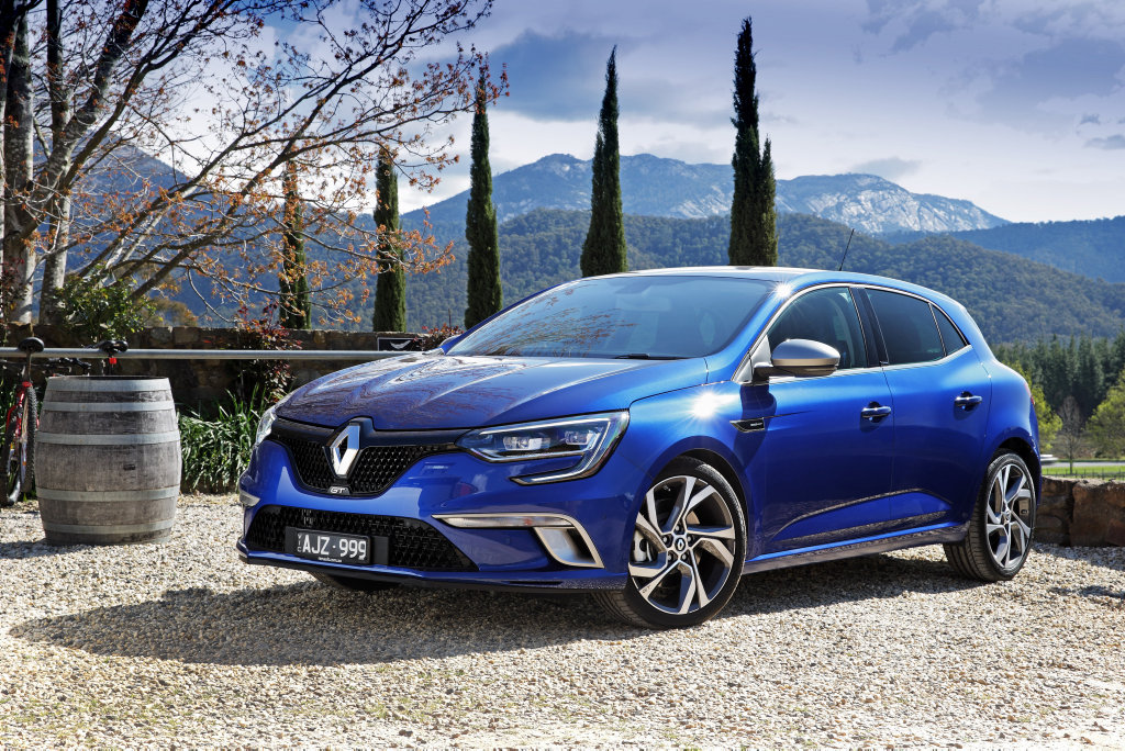 The 2016 Renault Megane GT is powered by a 1.6-litre turbocharged four-cylinder petrol engine.
