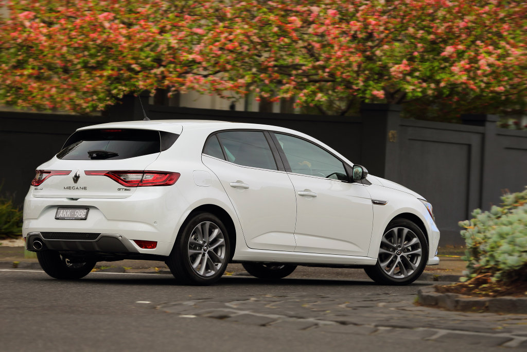 The 2016 Renault Megane GT-Line specification.