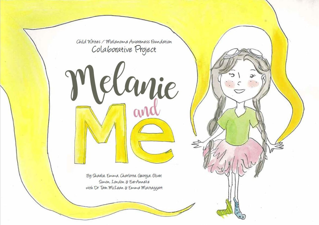 Melanie and me is a book by Toowoomba students created with the help of the Melanoma Awareness Foundation and the Peak 2 Park event.